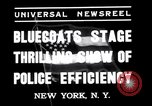 Image of Gotham Police Department New York United States USA, 1937, second 6 stock footage video 65675033982