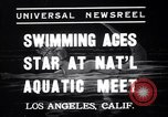 Image of Divers competing at the National Aquatic Meet Los Angeles California USA, 1937, second 1 stock footage video 65675033983