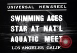 Image of Divers competing at the National Aquatic Meet Los Angeles California USA, 1937, second 4 stock footage video 65675033983