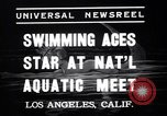 Image of Divers competing at the National Aquatic Meet Los Angeles California USA, 1937, second 5 stock footage video 65675033983