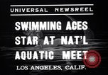 Image of Divers competing at the National Aquatic Meet Los Angeles California USA, 1937, second 6 stock footage video 65675033983