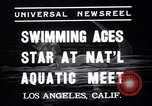 Image of Divers competing at the National Aquatic Meet Los Angeles California USA, 1937, second 7 stock footage video 65675033983