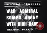 Image of War Admiral New York United States USA, 1937, second 1 stock footage video 65675033984