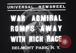 Image of War Admiral New York United States USA, 1937, second 2 stock footage video 65675033984
