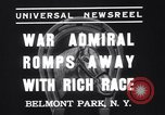 Image of War Admiral New York United States USA, 1937, second 6 stock footage video 65675033984