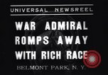 Image of War Admiral New York United States USA, 1937, second 8 stock footage video 65675033984
