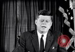 Image of John F Kennedy speech Washington DC USA, 1962, second 3 stock footage video 65675033986