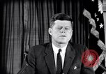 Image of John F Kennedy speech Washington DC USA, 1962, second 8 stock footage video 65675033986