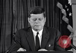 Image of John F Kennedy Washington DC USA, 1962, second 1 stock footage video 65675033989