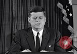 Image of John F Kennedy Washington DC USA, 1962, second 4 stock footage video 65675033989