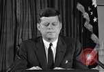 Image of John F Kennedy Washington DC USA, 1962, second 8 stock footage video 65675033989