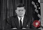 Image of John F Kennedy Washington DC USA, 1962, second 9 stock footage video 65675033989