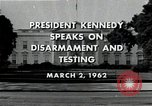 Image of John F Kennedy Washington DC USA, 1962, second 2 stock footage video 65675034010