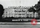 Image of John F Kennedy Washington DC USA, 1962, second 3 stock footage video 65675034010