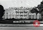 Image of John F Kennedy Washington DC USA, 1962, second 4 stock footage video 65675034010