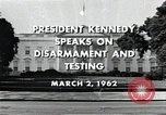 Image of John F Kennedy Washington DC USA, 1962, second 6 stock footage video 65675034010