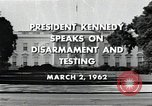 Image of John F Kennedy Washington DC USA, 1962, second 7 stock footage video 65675034010