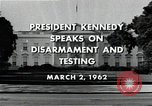 Image of John F Kennedy Washington DC USA, 1962, second 10 stock footage video 65675034010