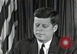 Image of John F Kennedy Washington DC USA, 1962, second 1 stock footage video 65675034011