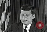 Image of John F Kennedy Washington DC USA, 1962, second 2 stock footage video 65675034011