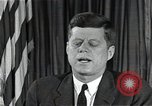 Image of John F Kennedy Washington DC USA, 1962, second 8 stock footage video 65675034011