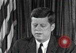 Image of John F Kennedy Washington DC USA, 1962, second 9 stock footage video 65675034011