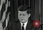 Image of John F Kennedy Washington DC USA, 1962, second 1 stock footage video 65675034012