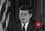 Image of John F Kennedy Washington DC USA, 1962, second 7 stock footage video 65675034012