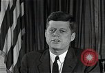Image of John F Kennedy Washington DC USA, 1962, second 8 stock footage video 65675034012