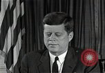 Image of John F Kennedy Washington DC USA, 1962, second 9 stock footage video 65675034012