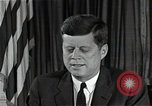 Image of John F Kennedy Washington DC USA, 1962, second 1 stock footage video 65675034013