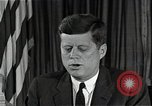 Image of John F Kennedy Washington DC USA, 1962, second 2 stock footage video 65675034013