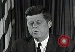 Image of John F Kennedy Washington DC USA, 1962, second 8 stock footage video 65675034013