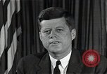 Image of John F Kennedy Washington DC USA, 1962, second 9 stock footage video 65675034013