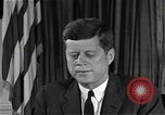 Image of John F Kennedy Washington DC USA, 1962, second 1 stock footage video 65675034014