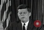 Image of John F Kennedy Washington DC USA, 1962, second 2 stock footage video 65675034014