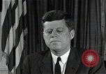 Image of John F Kennedy Washington DC USA, 1962, second 6 stock footage video 65675034014