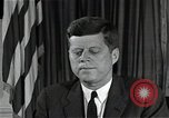 Image of John F Kennedy Washington DC USA, 1962, second 8 stock footage video 65675034014