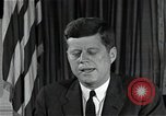 Image of John F Kennedy Washington DC USA, 1962, second 9 stock footage video 65675034014