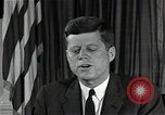 Image of John F Kennedy Washington DC USA, 1962, second 11 stock footage video 65675034014