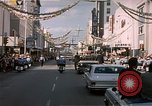 Image of President  John F Kennedy in motorcade Tampa Florida  USA, 1963, second 2 stock footage video 65675034016