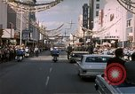 Image of President  John F Kennedy in motorcade Tampa Florida  USA, 1963, second 3 stock footage video 65675034016