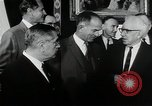 Image of John F Kennedy signs Nuclear Test Ban Treaty Washington DC White House USA, 1963, second 2 stock footage video 65675034022