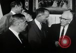 Image of John F Kennedy signs Nuclear Test Ban Treaty Washington DC White House USA, 1963, second 4 stock footage video 65675034022
