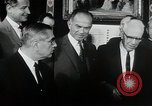 Image of John F Kennedy signs Nuclear Test Ban Treaty Washington DC White House USA, 1963, second 6 stock footage video 65675034022