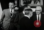 Image of John F Kennedy signs Nuclear Test Ban Treaty Washington DC White House USA, 1963, second 12 stock footage video 65675034022