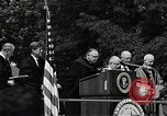 Image of John F Kennedy at American University Commencement Address Washington DC USA, 1963, second 3 stock footage video 65675034023