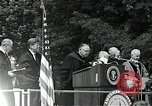 Image of John F Kennedy at American University Commencement Address Washington DC USA, 1963, second 4 stock footage video 65675034023