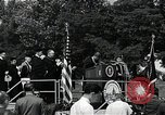 Image of John F Kennedy at American University Commencement Address Washington DC USA, 1963, second 6 stock footage video 65675034023