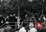 Image of John F Kennedy at American University Commencement Address Washington DC USA, 1963, second 7 stock footage video 65675034023